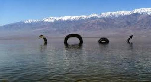 The Straits Times Reports LOCH NESS MONSTER Sighting.