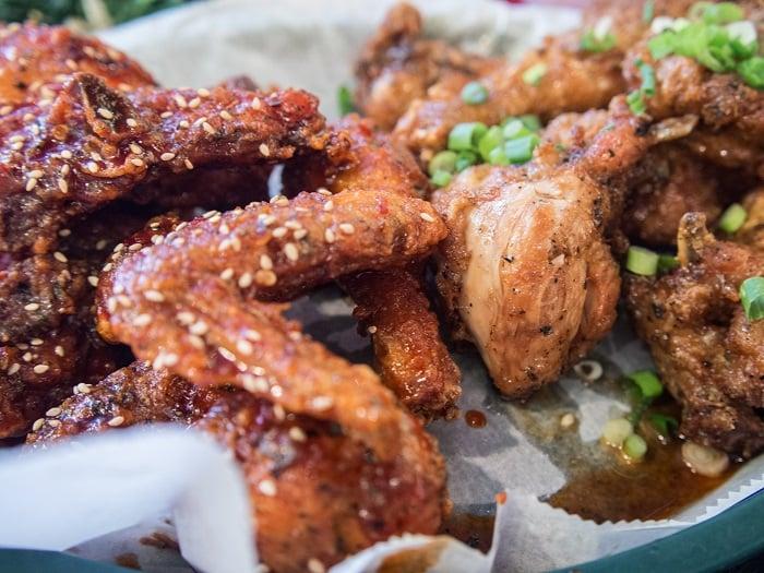 Crisp Korean Fried Chicken