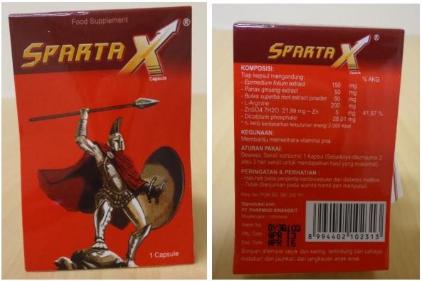 SPARTA X BOX