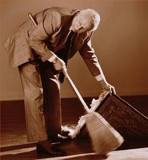 Sweep under carpet