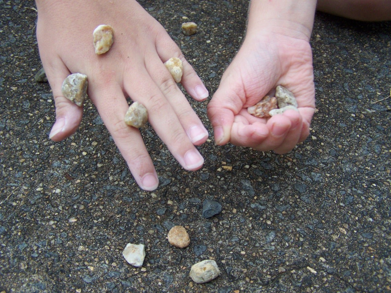 Hand Throwing Stone : Blast from the past games your s childhood