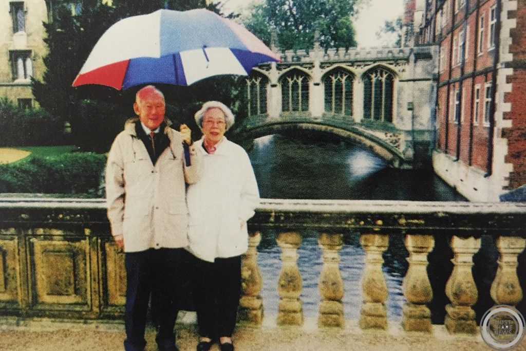 In 2000, Mr. and Mrs. Lee returned to the Bridge of Sighs.