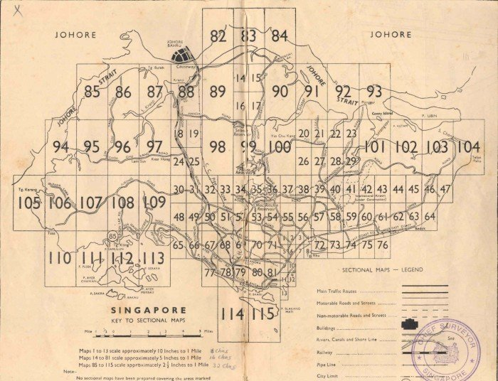 These Old-School Maps Will Change Your Impression Of 1950s ...
