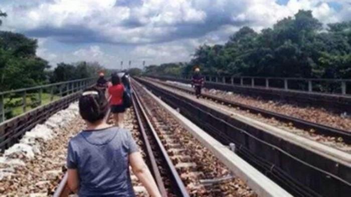 train break down