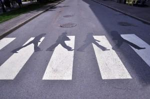 Beatles Abby Road Shadow