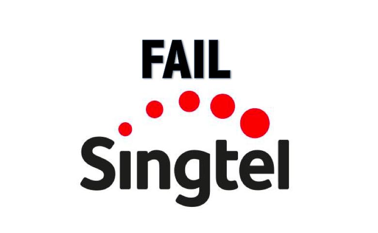 Singtel Suffers From Mobile Data Breakdown  Again