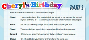 We Found Out Cheryl's Birthday, Here's How To Find Out Her Age