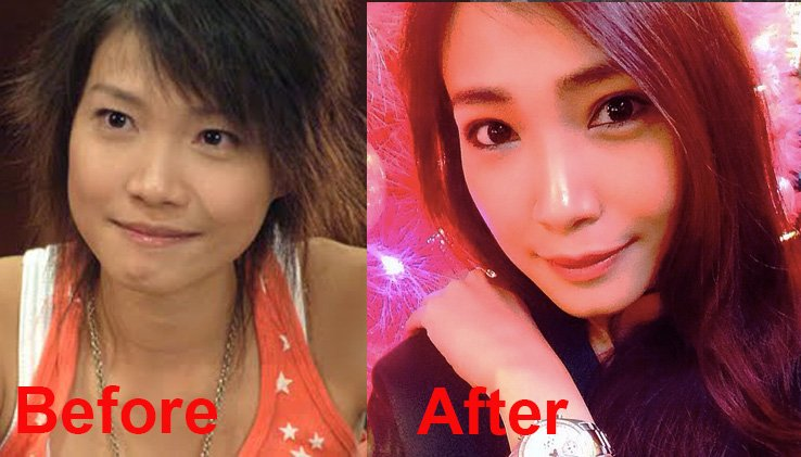 13 Singapore Celebrities Who Look Different Then And Now