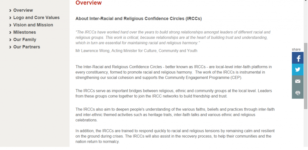 IRCC About Us