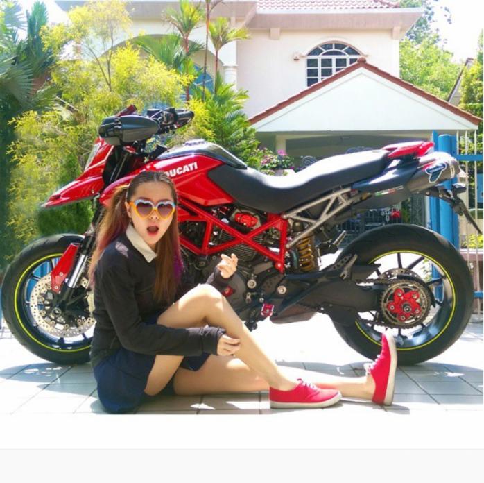 Singapore Biker Girl Vaune Phan Begins Epic Solo Ride To