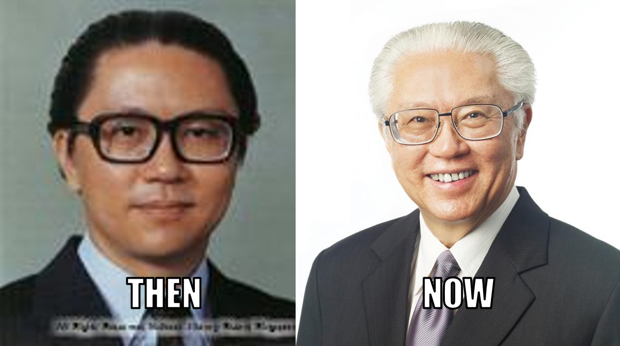 tony tan then and now