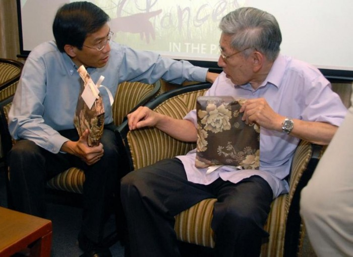 Chee Soon Juan and Chiam See Tong had an acrimonious past when working together at SDP