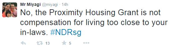 Proximity housing Grant