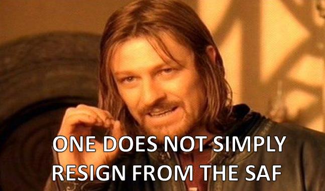resign from SMRT