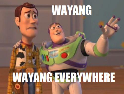 wayang everywhere
