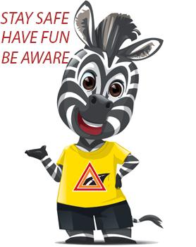 Zebra Mascot