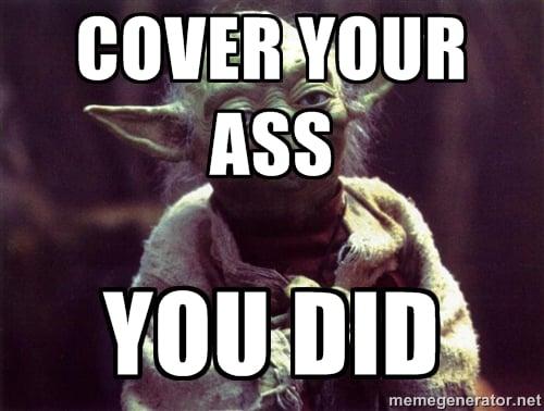 cover yo ass