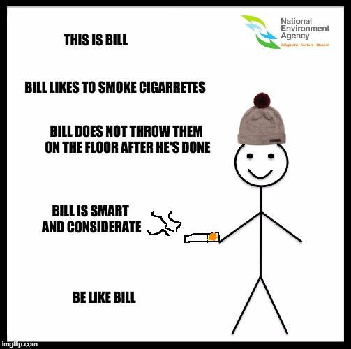 be like bill nea
