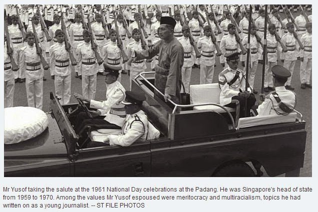 ST file photo -Yusof Ishak 1961 National Day