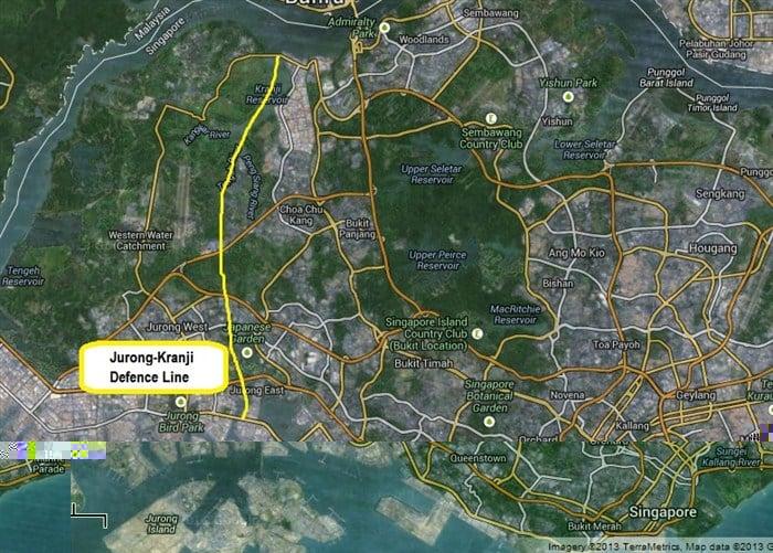 jurong kranji defence line