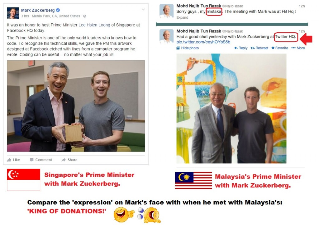 najib vs PM