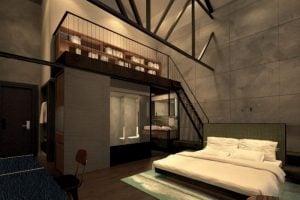 The Warehouse Hotel - River View Mezzanine
