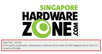 hardwarezone forum racism