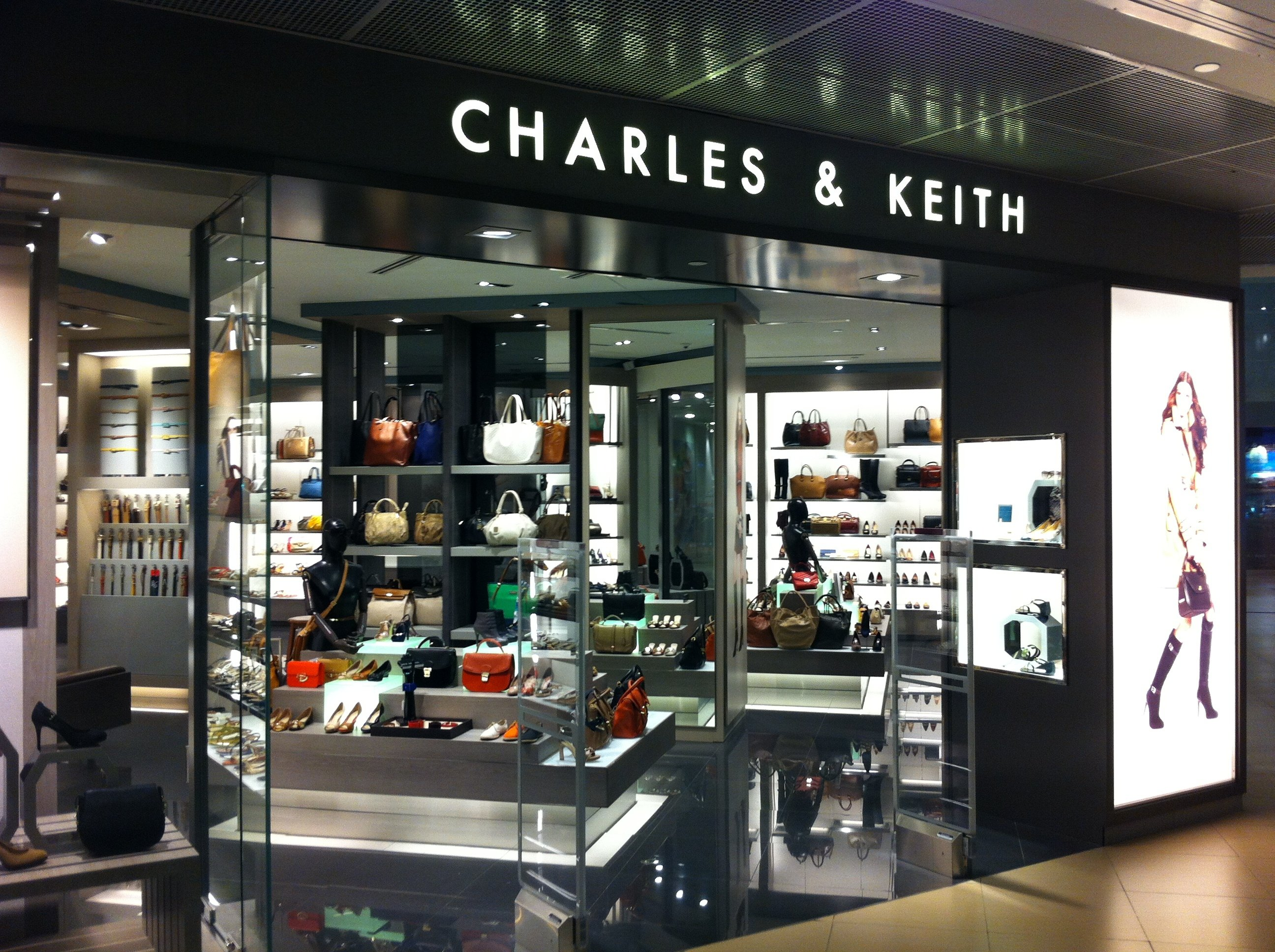 popular singapore brands - charles & keith
