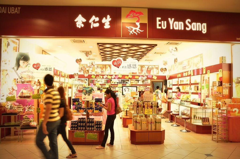 popular singapore brands - eu yan sang