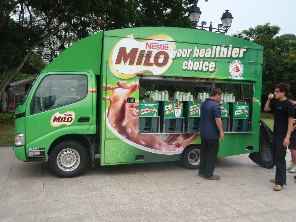 popular singapore brands - milo