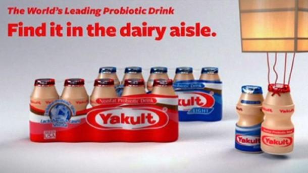 popular singapore brands - yakult