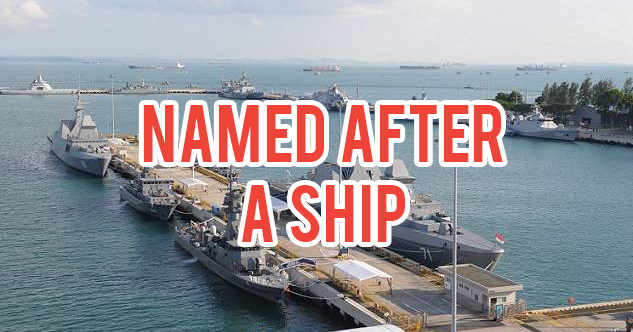 Singapore Navy Names Base After A Ship So Navy Boys Can