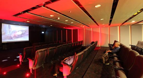 changi airport movie theatre best