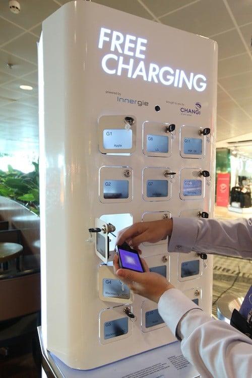 charging free changi airport