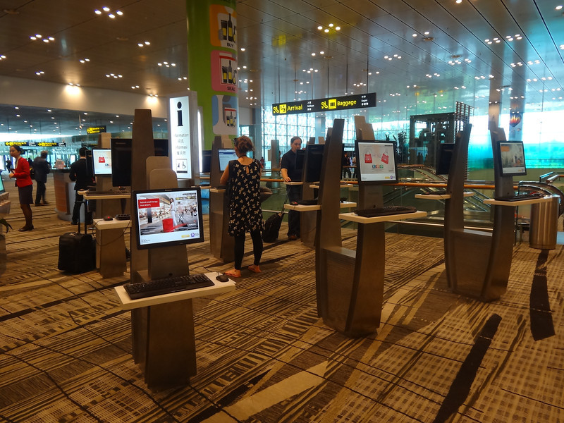computers free changi airport best