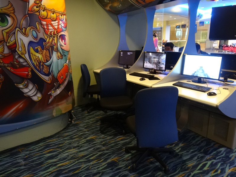 lan gaming changi airport