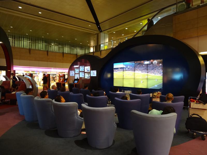 sports lounge changi airport