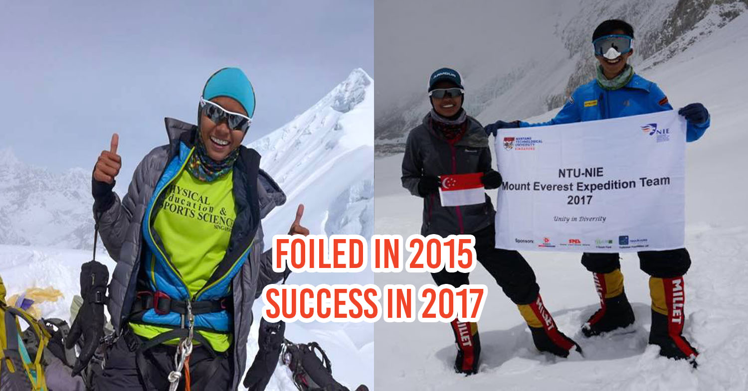 1st Malay Female Singaporean To Summit Mt Everest Tried Again After