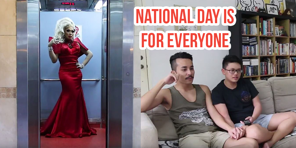 This Woke National Day Video Features Predominantly Gay Singaporeans And A  Fierce Drag Queen