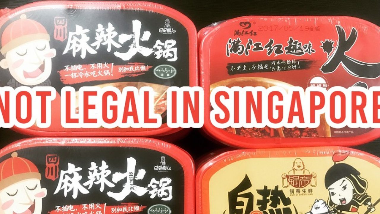 Popular Instant Mala Hotpots Not Legal In Singapore, Stocks