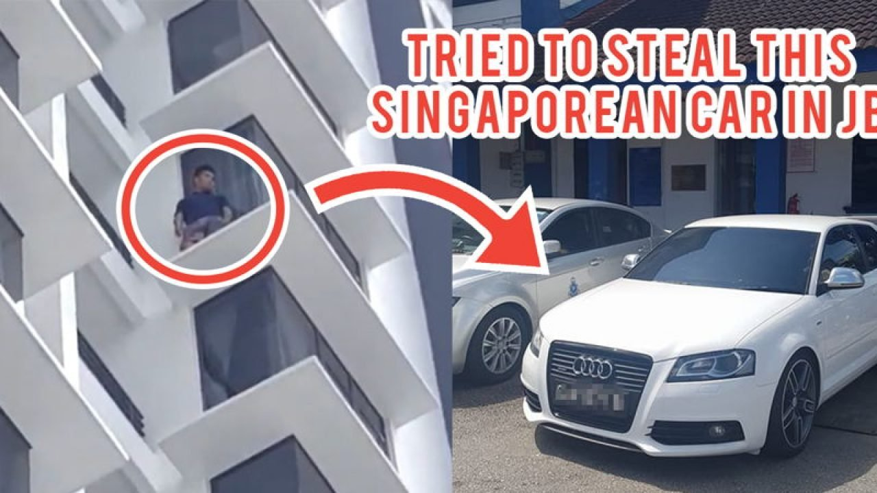 Singaporean Loses Audi At JB Carwash, Tracks Down Thief To