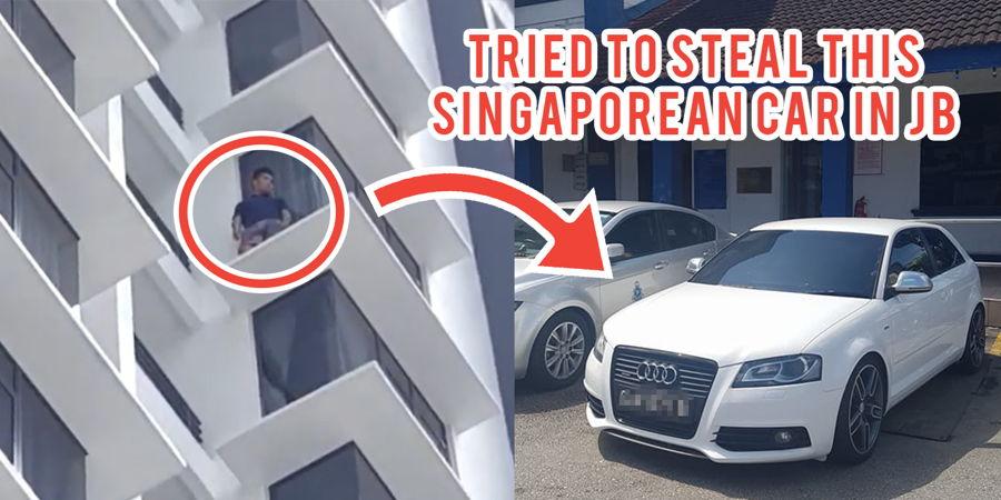 Singaporean Loses Audi At JB Carwash Tracks Down Thief To Find Him - Audi car wash
