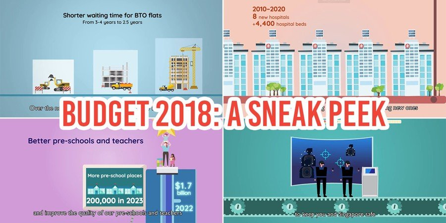 4 Hints Gov sg's Budget 2018 Videos Give Us About Government Spending