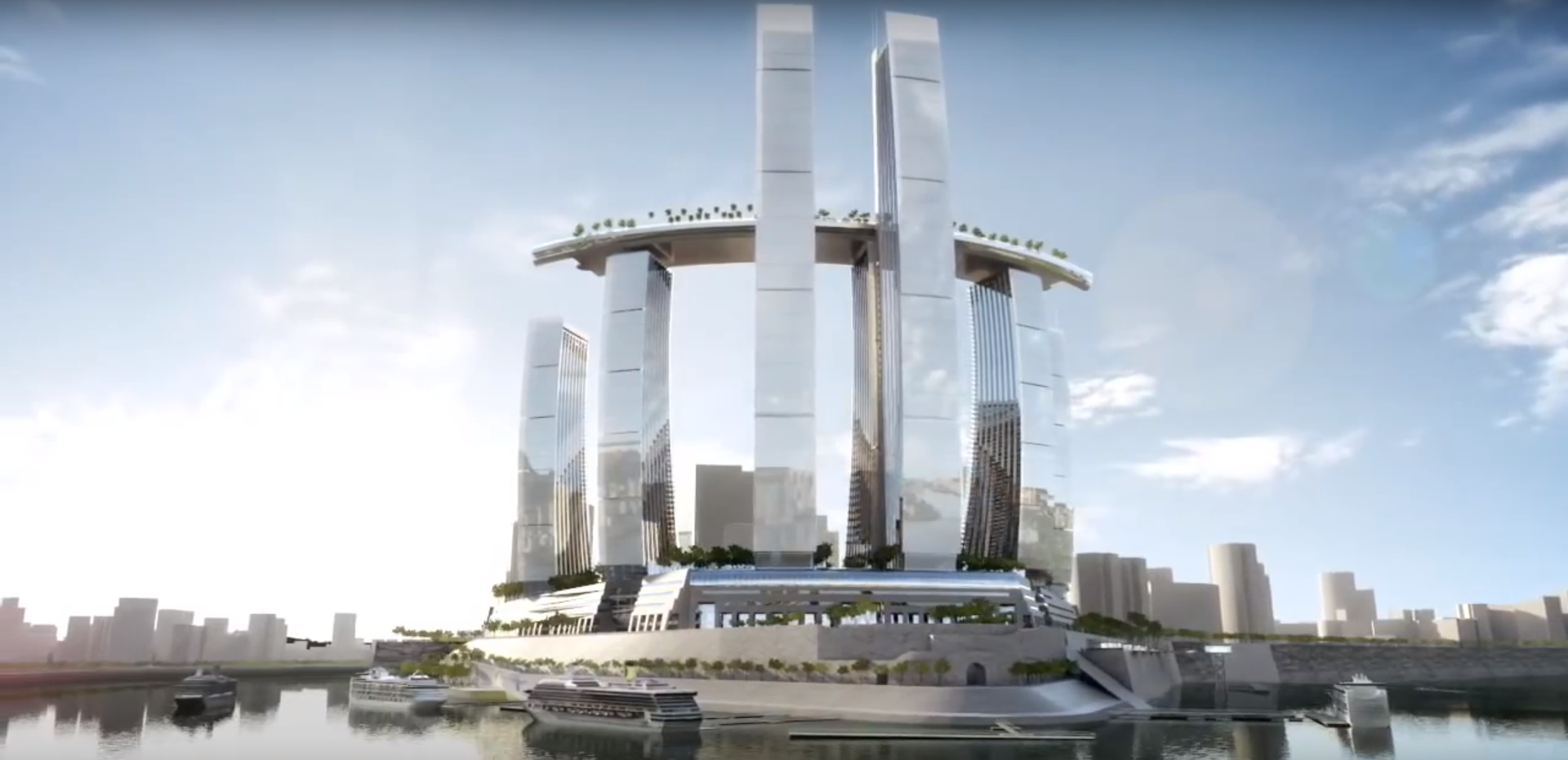 Marina Bay Sands Now Has A Taller Twin In China S Raffles