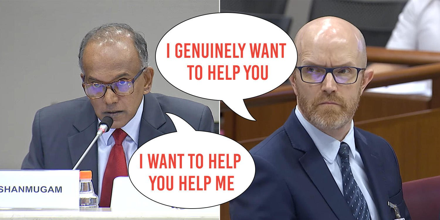 Minister Shanmugam Turns The Heat Up On Facebook At Anti
