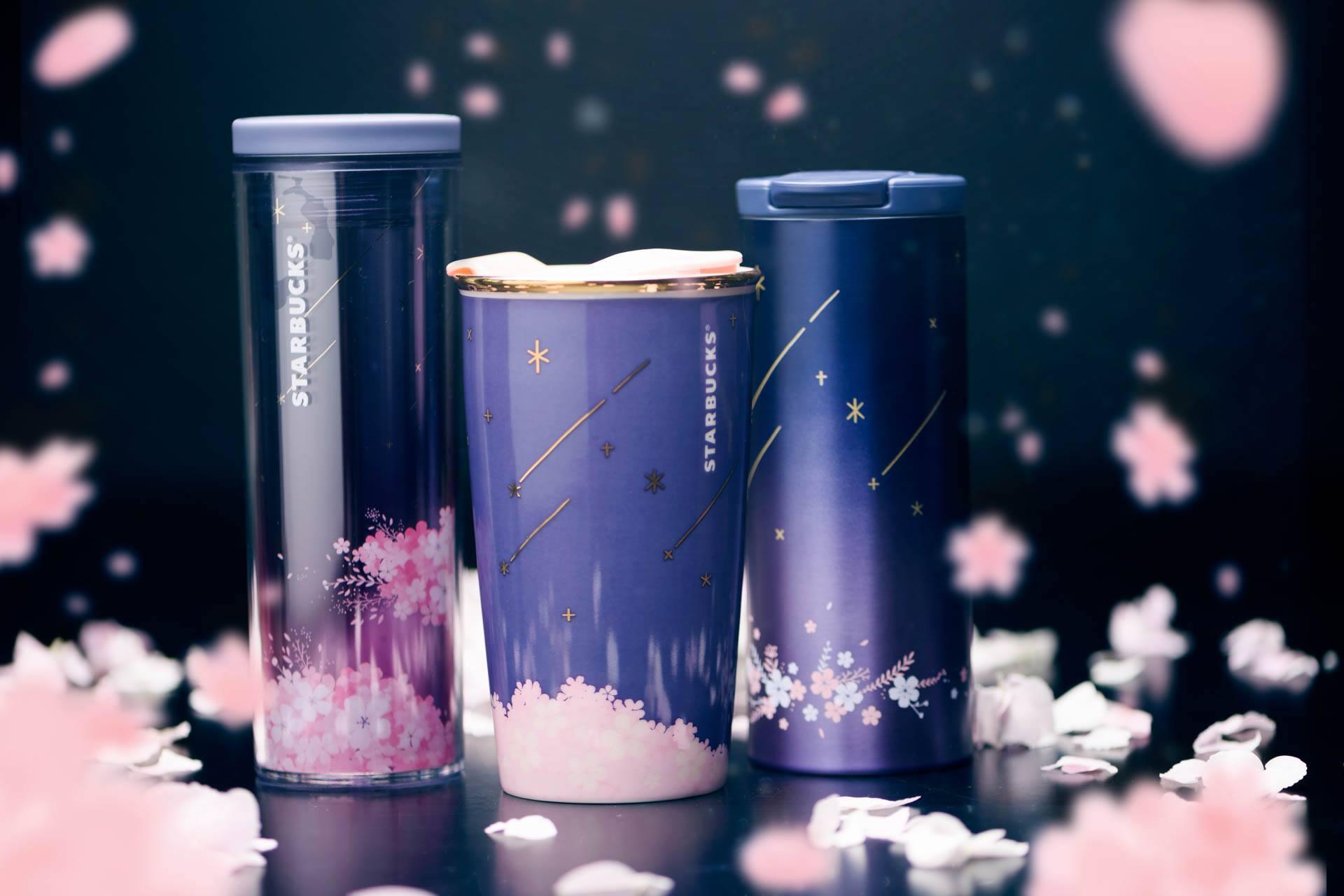 Starbucks Navy Sakura Blossom Tumblers 3 Image Result For Starbuck Tumblers