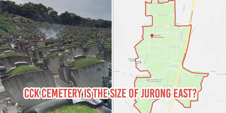Choa Chu Kang Cemetery\'s As Large As Jurong East & Has A Michael ...