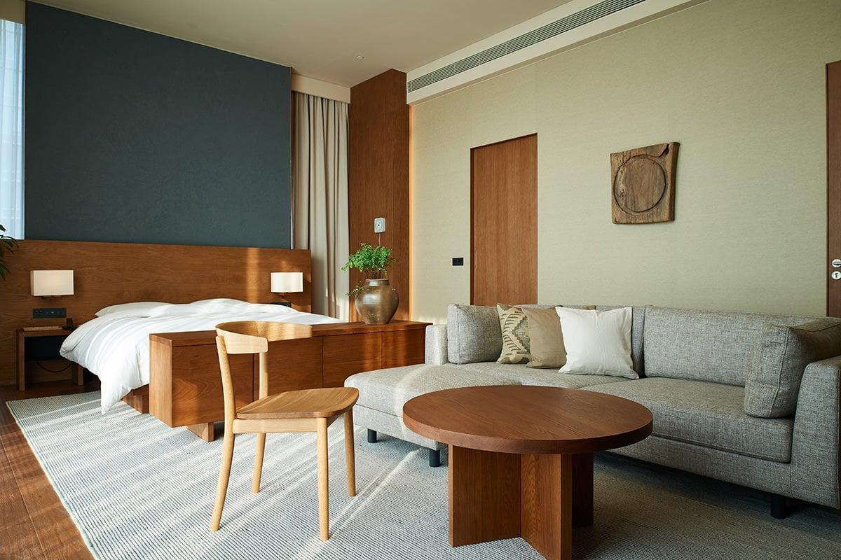 Japanese Minimalist Room