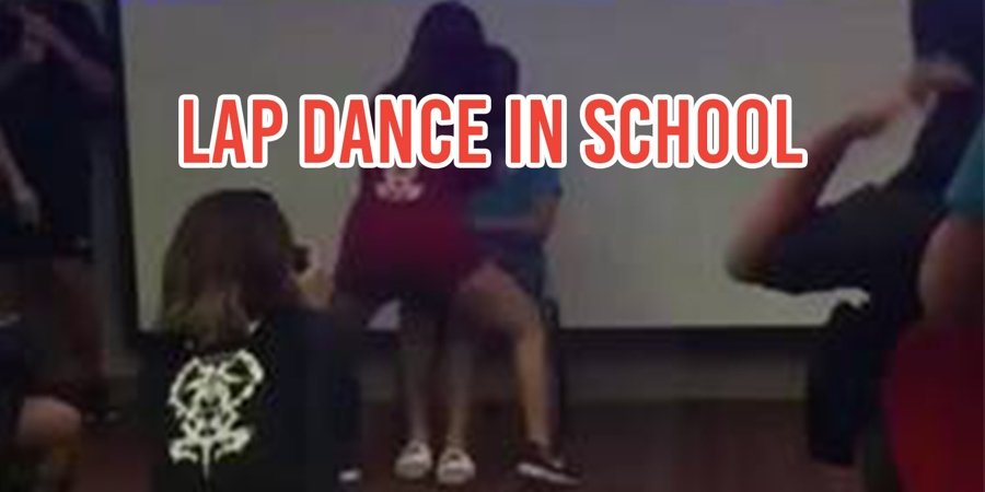 College Girl Lap Dance