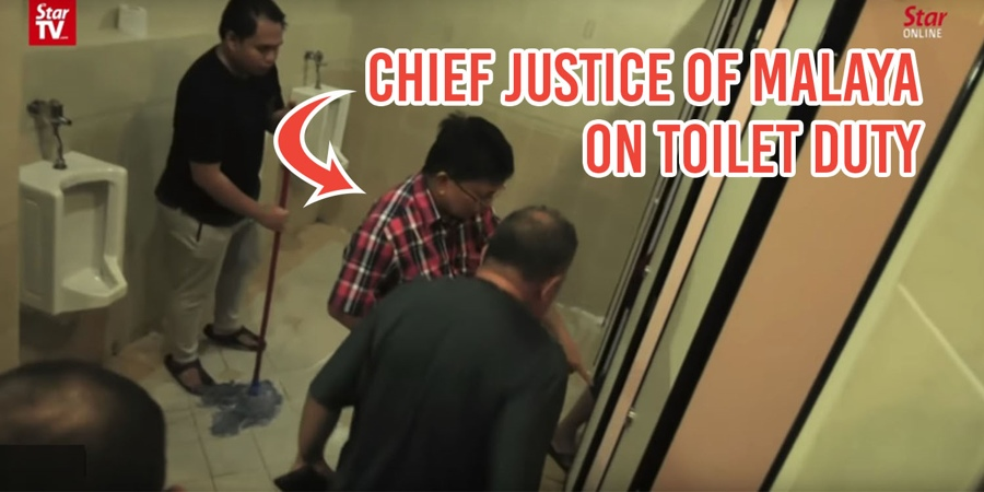200 Judges, Magistrates & Officials Clean 8 Floors Of Toilets In ...